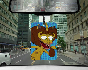 Hormone Monster car Air Freshener  | scented Big Mouth gifts for him Boyfriend Nick Kroll gift for perverts Maury MAN fathers day present
