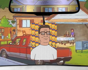 Hank Hill car Air Freshener King of the Hill