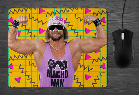 Macho Man Randy Savage mouse pad Dab Mat