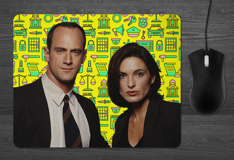 Law and Order SVU Mouse Pad Dab Mat