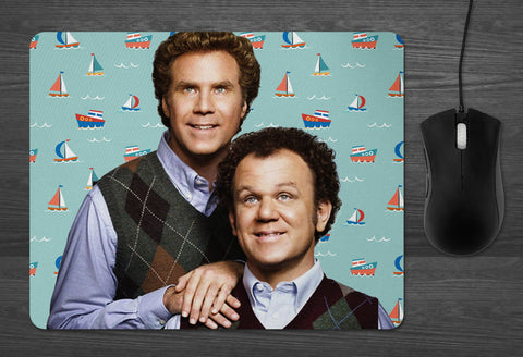 Step Brothers Mouse pad  | Dab  Will Ferrell John Reilly Movie Gifts for Him Brennan Dale Prestige Worldwide Catalina Wine Mixer Boats Hoes
