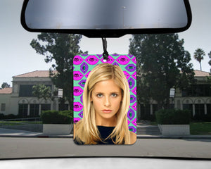 Buffy the Vampire Slayer car Air Freshener Buffy Summers Vampire Breath scented