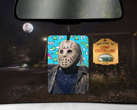 Jason Voorhees car Air Freshener Friday the 13th
