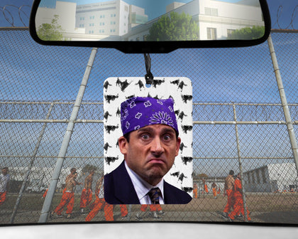 Prison Mike car Air Freshener | The Office Michael Scott Candy CIGARETTE scented gifts for him Boyfriend gift her Girlfriend Funny Dementors