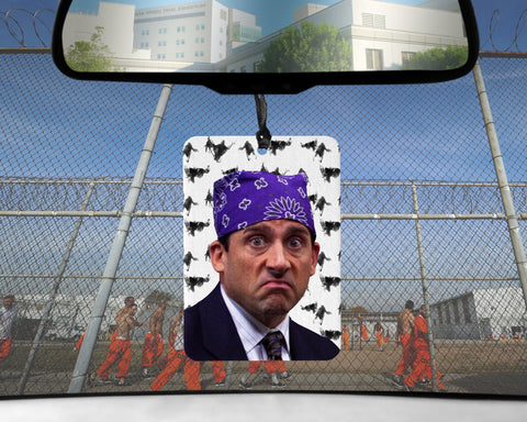 Prison Mike car Air Freshener The Office Michael Scott Candy CIGARETTE scented