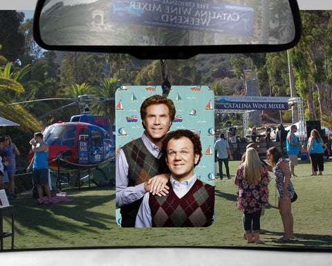 Step Brothers car Air Freshener  | Catalina Wine Mixer lemon lime scented boats n hoes gifts for Boyfriend gift her Girlfriend Dale Brennan