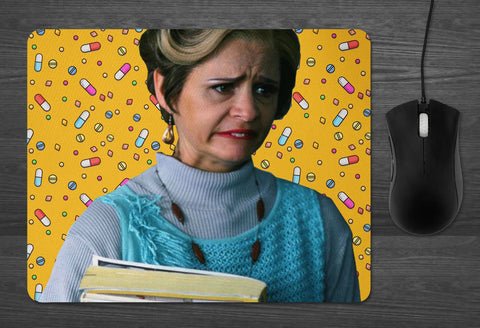 Jerri Blank MOUSE PAD  | dab mat Strangers With Candy boozer loser Amy Sedaris principal blackman Flatpoint High gifts for her Mothers Day