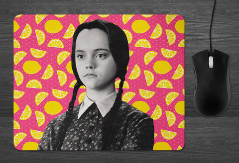 Wednesday Addams Mouse Pad dab mat