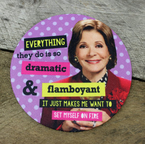 Arrested Development Quotes Coaster Set