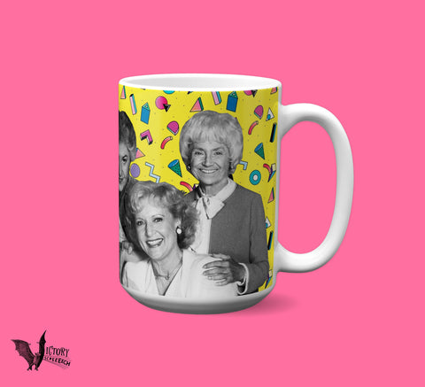 Golden Girls MUG  | dorothy blanche rose sophia Thank You for Being a Friend gifts for HER gay icons Pride Coworker gift