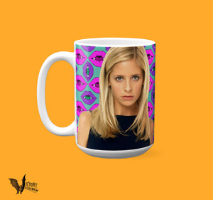 Buffy Summers Mug  | Buffy the Vampire Slayer TV gifts for her Girlfriend gifts supernatural Feminist girl power Sarah Michelle Gellar