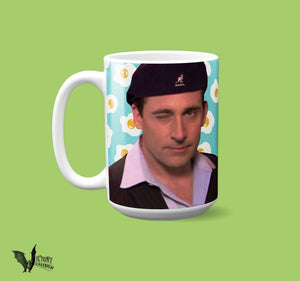Date Mike the Office MUG | Michael Scott Scranton best boss ever Pleased to Meet Me how do you like your eggs tv show gifts for silly people