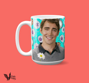 Pushing Daisies Mug  | Ned the Pie Man and Chuck BOTH yay gifts for her Girlfriend best show ever I DIEEE