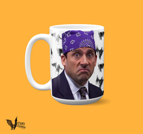 Prison Mike the Office MUG  | Michael Scott Dementors best boss ever The Worst Thing about Prison gruel tv show gifts for silly people