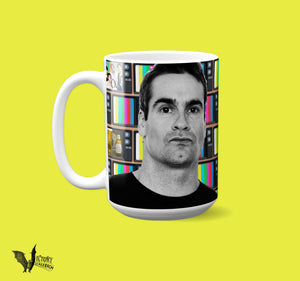 Henry Rollins MUG  | black flag TV party gifts for him boyfriend best friend gifts dc icons Music legends Punk mugs