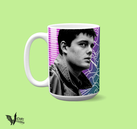 Ian Curtis MUG |  Joy Division gifts for him boyfriend best friend gifts girlfriend gifts Music legends post Punk mugs  Goth Mugs