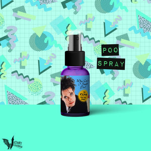 Robert Smith Toilet Odor Spray  | bathroom The Cure Why Can't I Smell Poo new wave 80s poo spritz parody REALLY WORKS