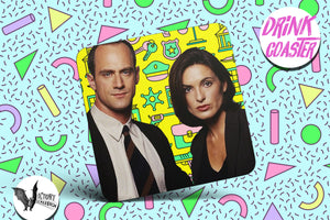 Law and Order SVU MUG  | Olivia and Elliott detectives  Investigators Particularly Heinous coworker gifts Best Friends partners TV lovers