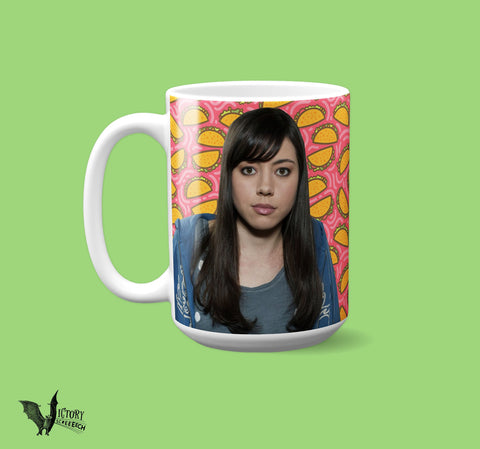 April Ludgate MUG  | Parks and Recreation girlfriend gifts for her Christmas Pawnee parks and rec gifts
