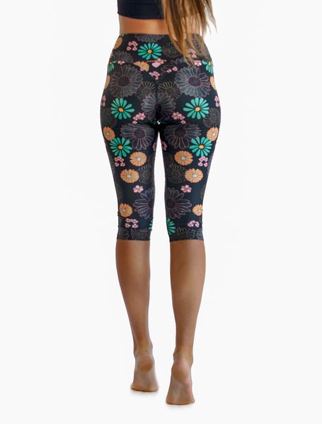 Flowerchild Jade Cropped Tights