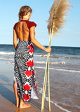 Two Tribes Maxi Skirt