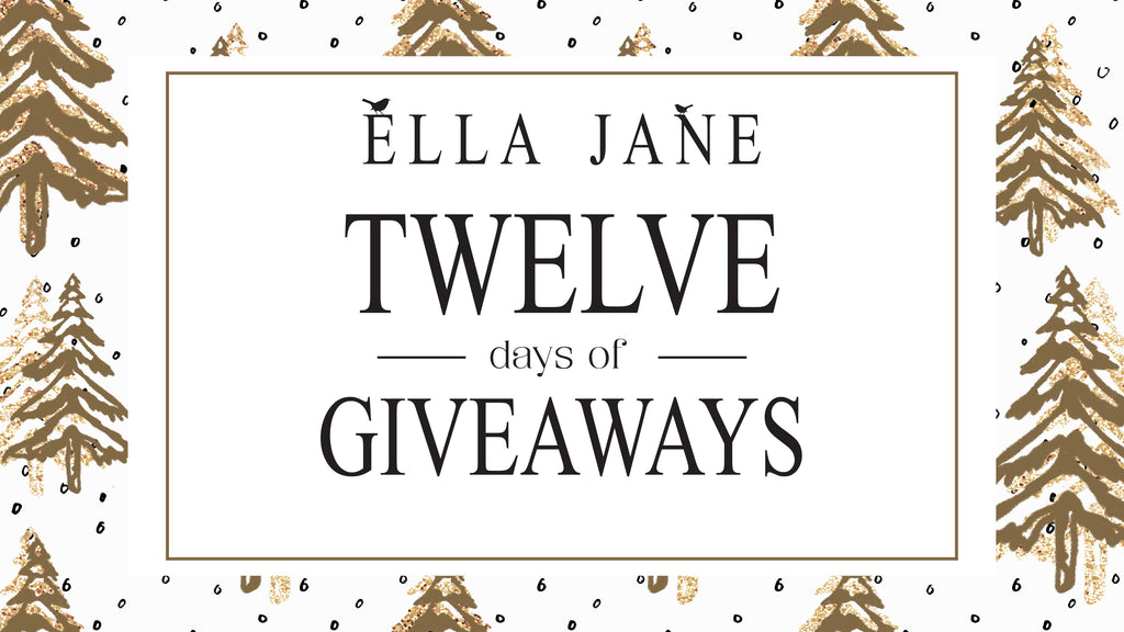 Twelve Days of Giveaways - 12 Chances for You to Win Something Beautiful