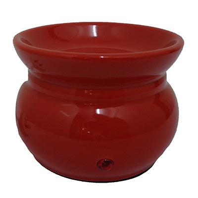 Large Electric Oil Melt Burner - Red