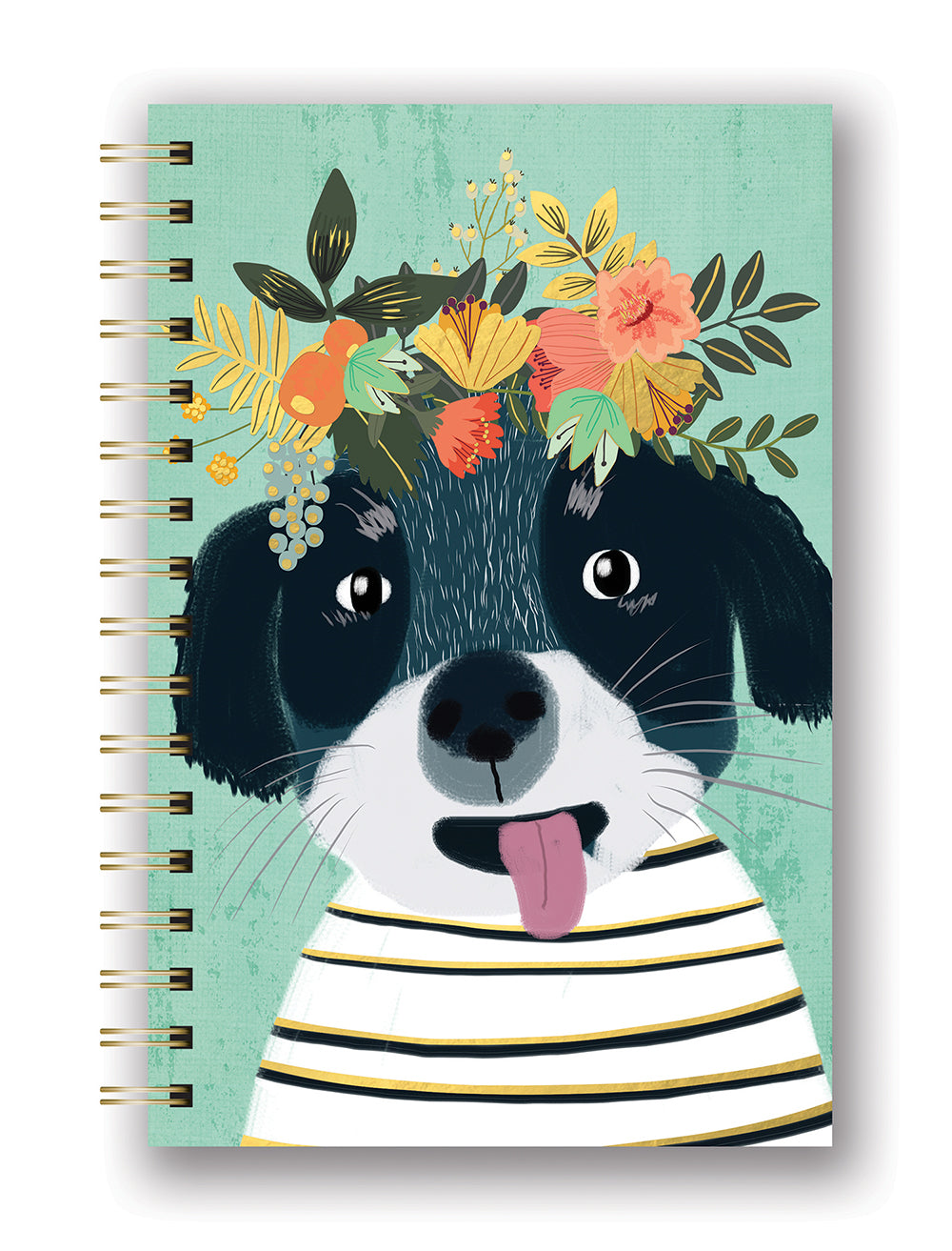 Fancy Dog Spiral Journal | Studio Oh!