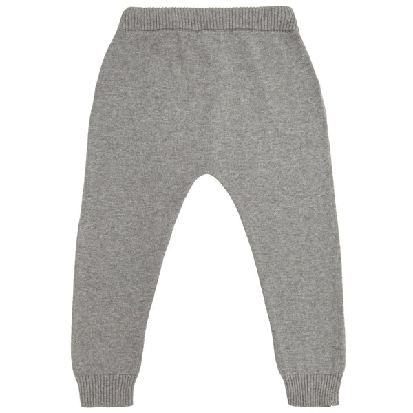 miann and co cotton knit pants grey