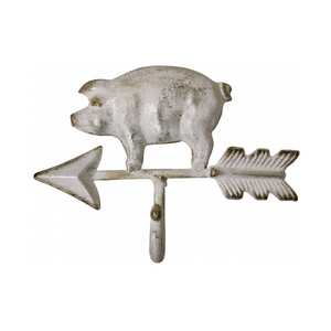 metal pig and arrow wall hook one hook coat hook hat hook decorative country home decor