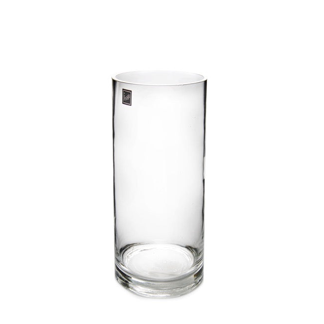 Glass Cylinder Vase - 30cm tall