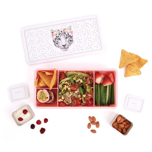 Floral Tiger Love Mae Lunch Box
