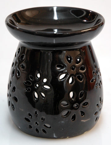 Flower Cutout Black Oil Burner for sale in Strathalbyn South Australia