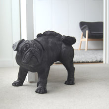 Load image into Gallery viewer, Peeing Pug - Black