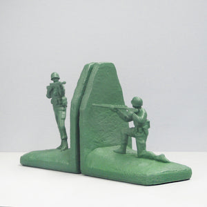 Bookends - Soldier - Green