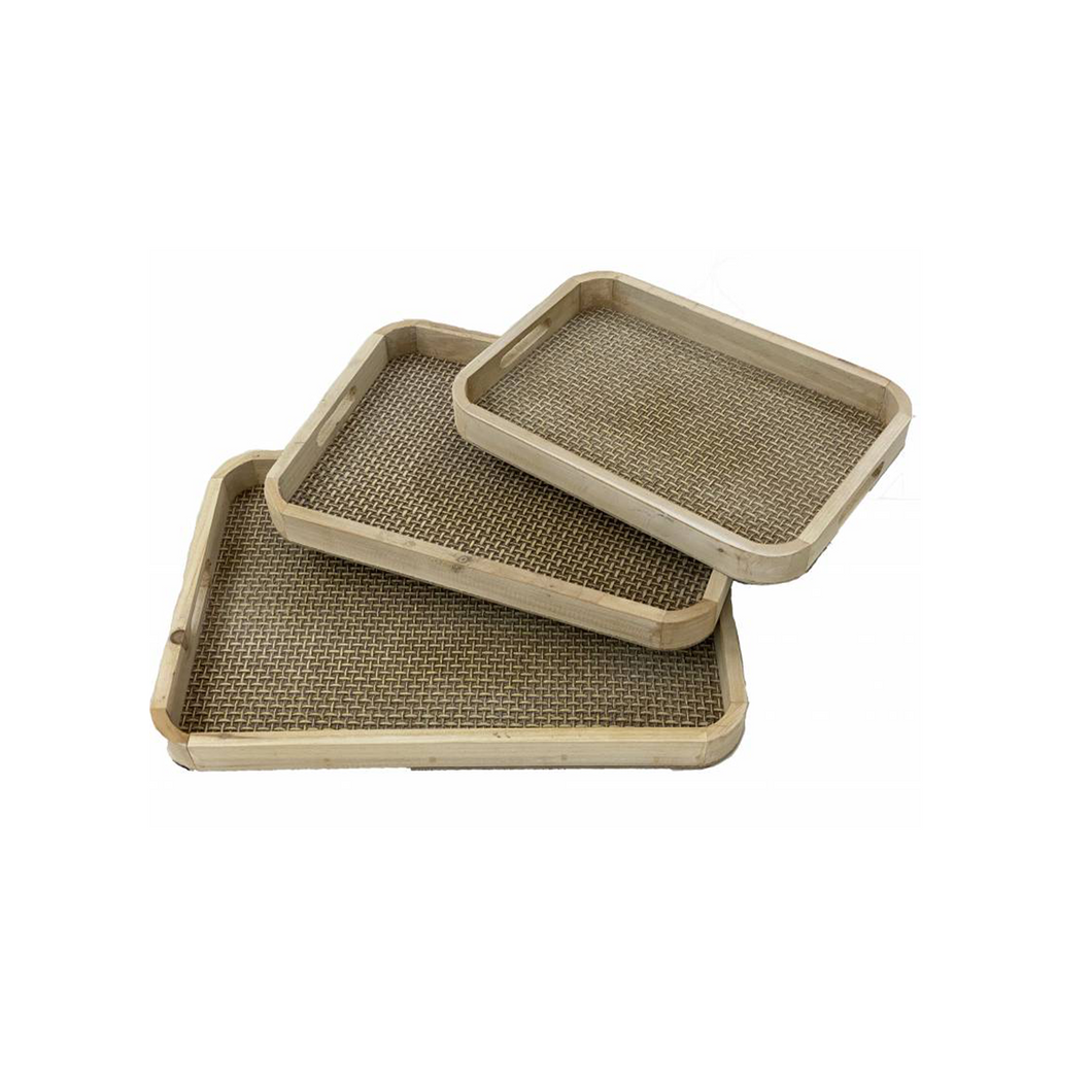 Mishka Trays - Set of 3