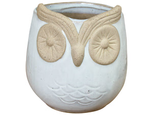 Ollie the Owl - Ceramic Pot/Planter