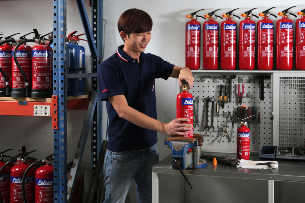 Onsite Fire Extinguisher Servicing
