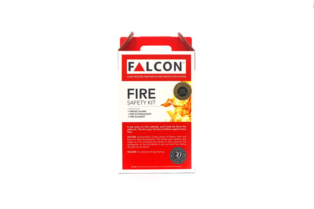 FALCON Premium 3-in-1 Fire Safety Kit