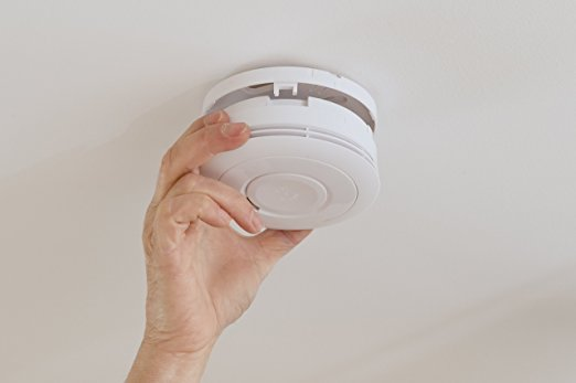 Home Fire Alarm Device - Smoke Alarm 10 yr battery