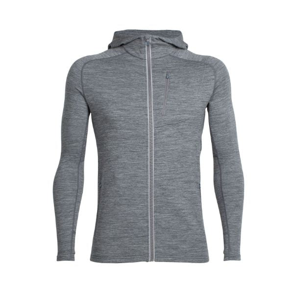 Icebreaker - MEN'S QUANTUM LONG SLEEVE ZIP HOOD