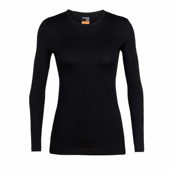 Icebreaker - WOMEN'S 200 OASIS LONG SLEEVE CREWE