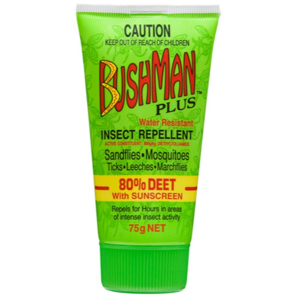 Bushman Plus Insect Repellent Gel with Sunscreen (2.6 oz 75g)