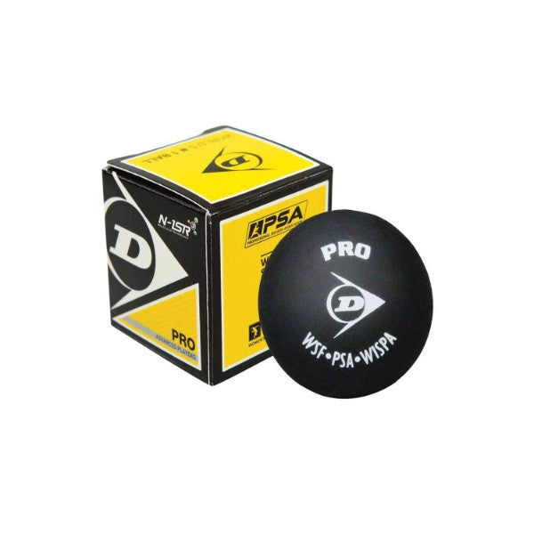 Dunlop - Squash Ball Pro (Double Yellow Dot)
