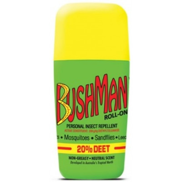 Bushman Plus Insect Repellent Roll on with Sunscreen (65g)