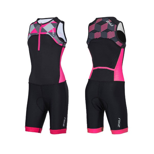 2XU- Youth Girls Active Trisuit