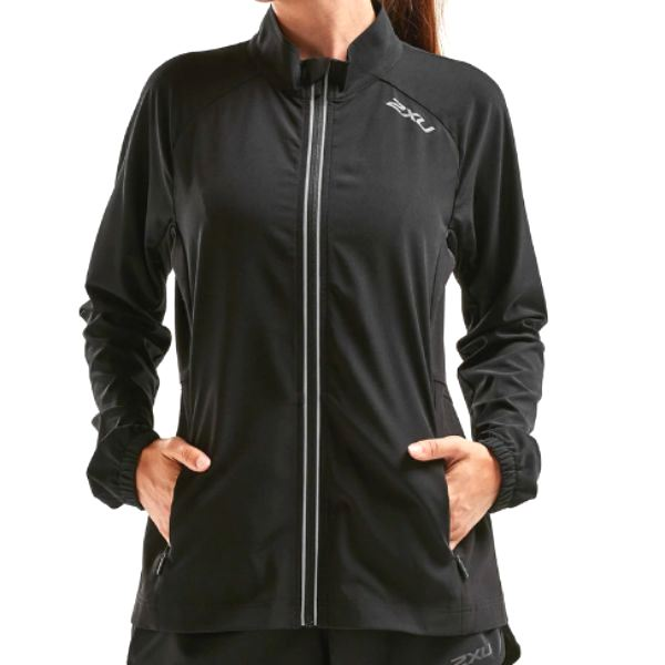 2XU - WOMEN'S XVENT RUN JACKET (BLACK)