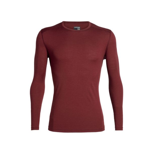 Icebreaker - MEN'S MERINO 200 OASIS LONG SLEEVE CREWE