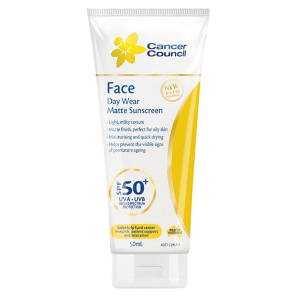 Cancer Council - Day Wear Face Matte