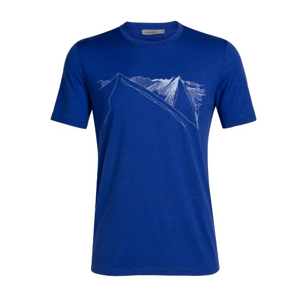 Icebreaker - MEN'S TECH LITE SHORT SLEEVE CREWE PEAK IN REACH